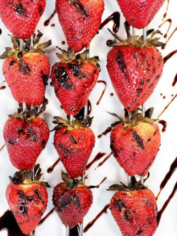 Grilled Strawberries Featured Image