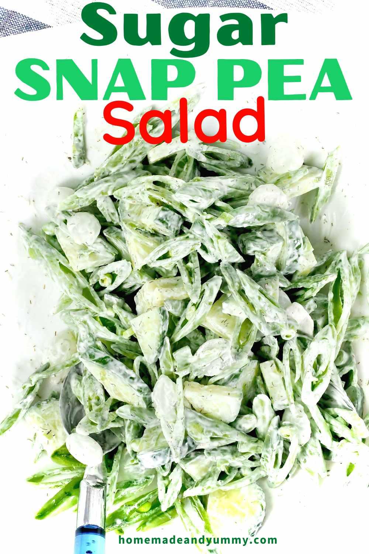 Sugar Snap Pea Salad Pin