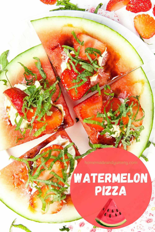 Watermelon Pizza Pin