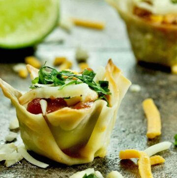 Guacamole Appetizer Cups Featured Image