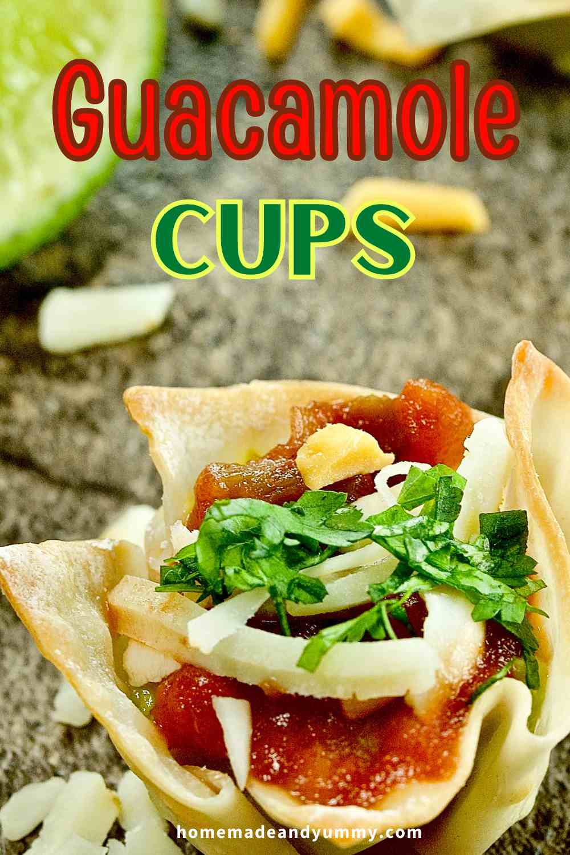Guacamole Appetizers Pin