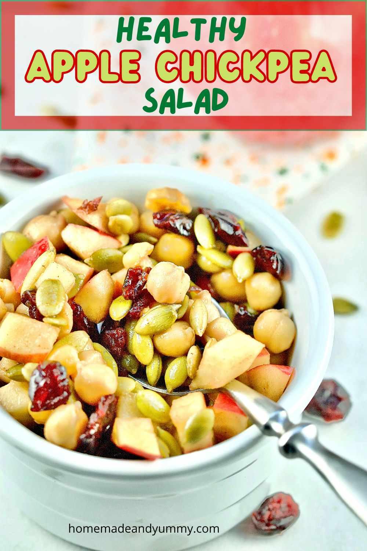 Apple Chickpea Salad Pin