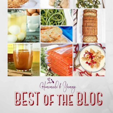 BEST BLOG recipes collage.