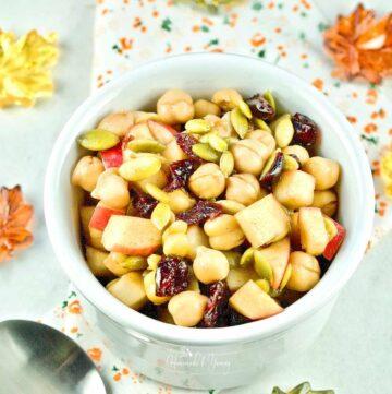 Chickpea Apple Salad Featured Image