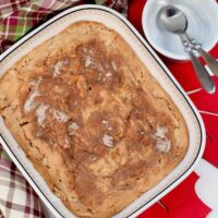 Baked Apple Pudding Featured Image