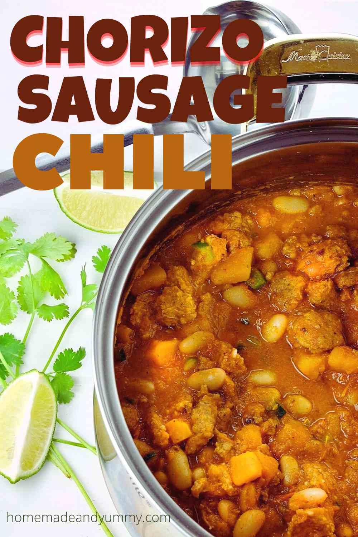 Chorizo Sausage Chili Pin