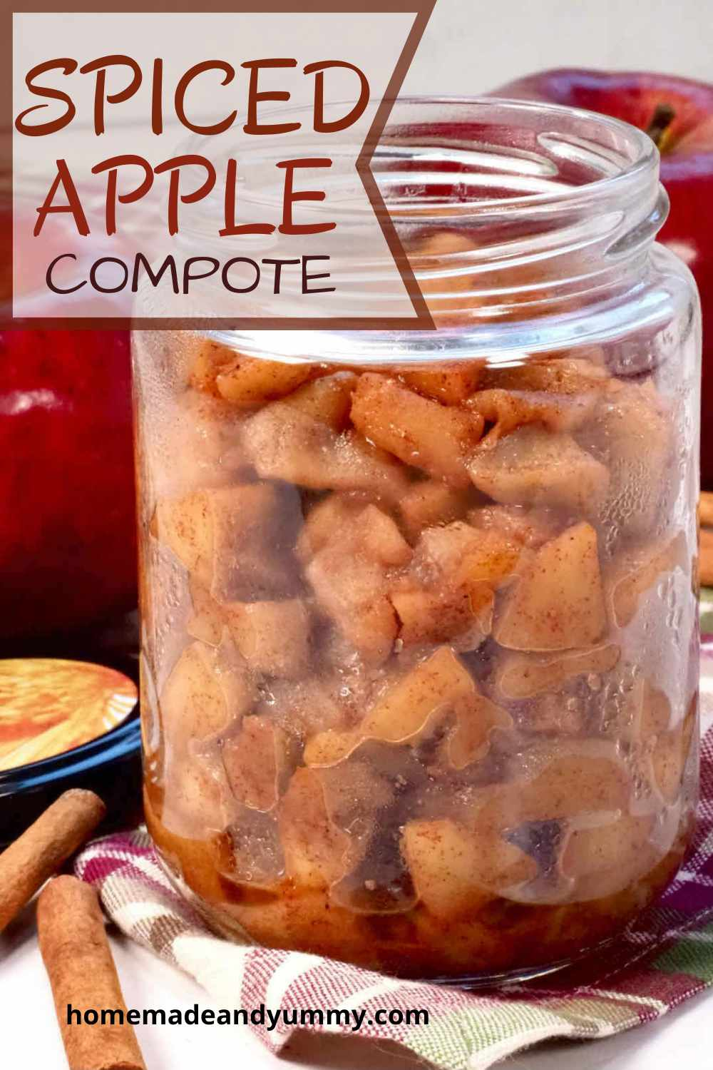 Apple Compote Pin