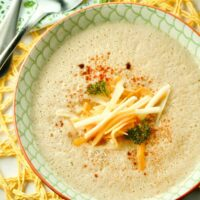 Roasted Cauliflower Soup Featured Image