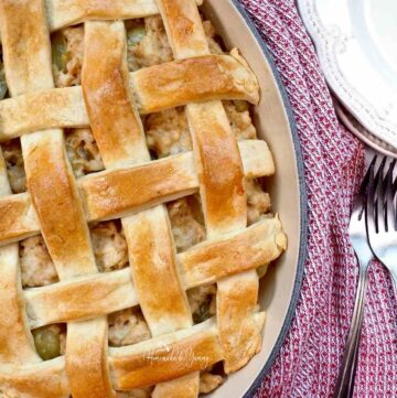 French Turkey Meat Pie Featured Image